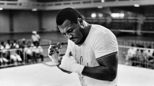 Joe Frazier Boxing