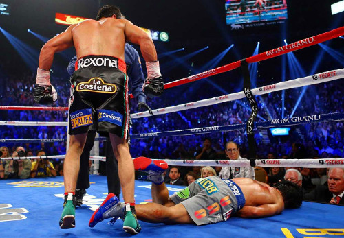 Manny Pacquiao Knocked Out