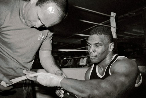 Mike Tyson and Kevin Rooney