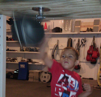 Speed bag for kids